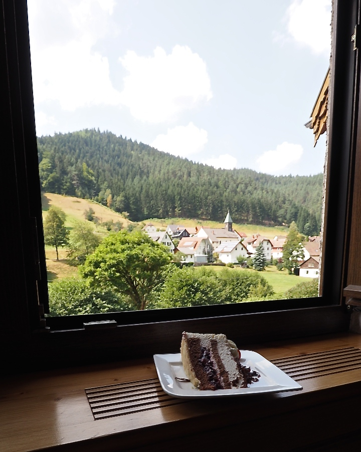 Authentic Black Forest cake from the Black Forest!