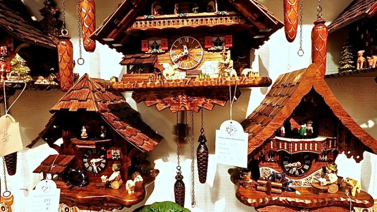 Adolf Herr's Cuckoo Clocks.